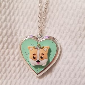 Corgi locket from justice.